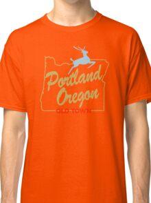Portland Oregon - Made in Oregon Sign Classic T-Shirt
