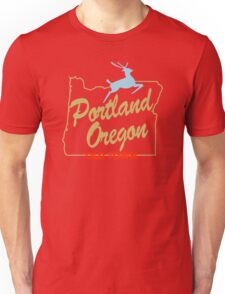 Portland Oregon - Made in Oregon Sign Unisex T-Shirt