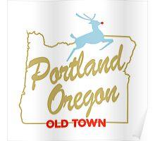 Portland Oregon - Made in Oregon Sign Poster
