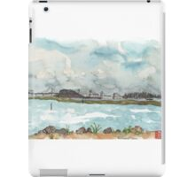 A view of San Francisco from the Richmond Shoreline iPad Case/Skin