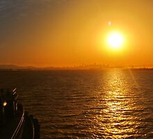 Late Afternoon San Francisco Bay by David Denny