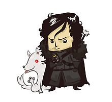 Jon Snow by exeivier