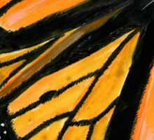 Monarch Butterfly Sticker Sticker