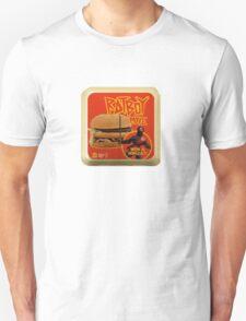 Rat Boy Move Burger Logo Unisex T-Shirt