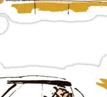 car comics life is to short! Sticker
