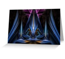 The Citadel Of Light Greeting Card
