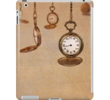 Time Moves iPad Case/Skin