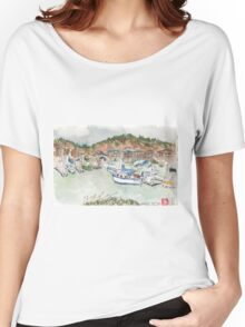 Brickyard Cove Marina, Richmond, CA Women's Relaxed Fit T-Shirt