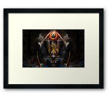Krakinos Periness Fractal Art  Framed Print