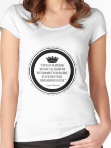 Benanti Quote Women's Fitted Scoop T-Shirt