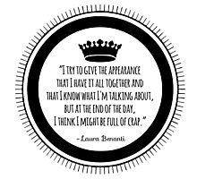 Benanti Quote Photographic Print