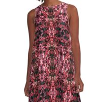 Pink/Red Explosion 2 A-Line Dress