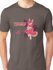 DESTROY THEM WITH LAZERS Unisex T-Shirt