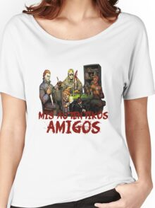 Mis Auténticos Amigos Women's Relaxed Fit T-Shirt