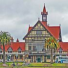 Rotorua Museum and Art Gallery - Panorama by Margaret  Hyde