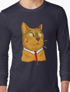 Buisness Cat Long Sleeve T-Shirt