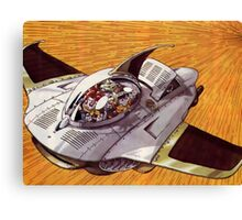 Chrono Fly Canvas Print