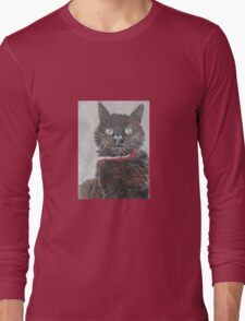 Black Cats are Best Long Sleeve T-Shirt