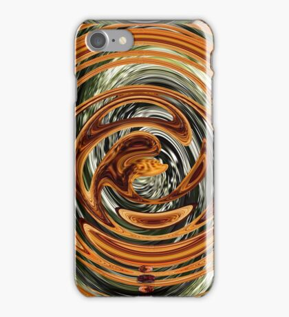 Dragons Dinner with Greens & Gold iPhone Case/Skin