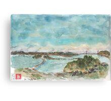 A view of San Francisco Bay Canvas Print