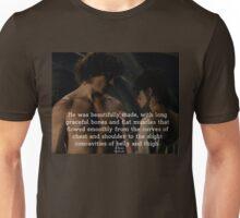 Outlander Wedding night Quote/Jamie & Claire Fraser Unisex T-Shirt