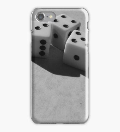 Dice B&W iPhone Case/Skin