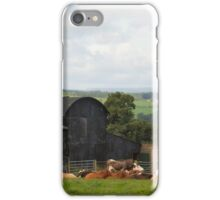 Bovine Barns iPhone Case/Skin