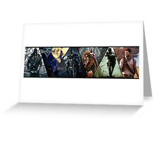 Multi PS3 Games Greeting Card