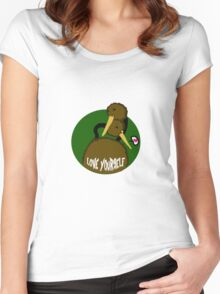 Doduo self love Women's Fitted Scoop T-Shirt