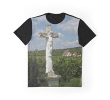 Wayside Cross At Feuersbrunn, Lower Austria Graphic T-Shirt