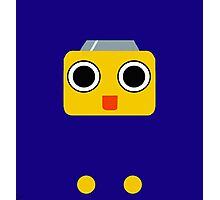 Mega Man Legends Servbot pattern (UNOFFICIAL) Photographic Print