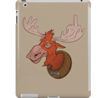 Moose says hello iPad Case/Skin
