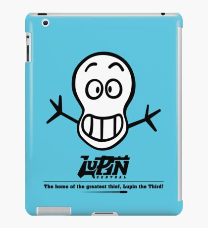 Lupin Central - Heads Up! iPad Case/Skin