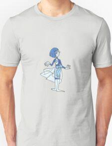 Matte Blue Pearl Unisex T-Shirt