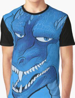 Blue dragon Graphic T-Shirt