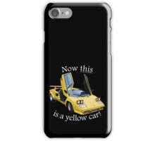 Now this is a yellow car! iPhone Case/Skin