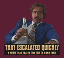 Escalation by Clarkiie »