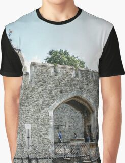 Entering the Fortress Graphic T-Shirt