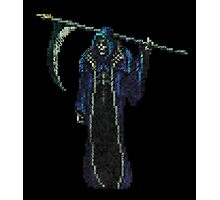 Death Vintage Pixels from SOTN  Photographic Print