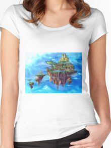 Chrono Island Women's Fitted Scoop T-Shirt