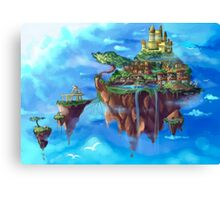 Chrono Island Canvas Print