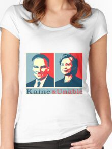 Kaine And Unable! Women's Fitted Scoop T-Shirt