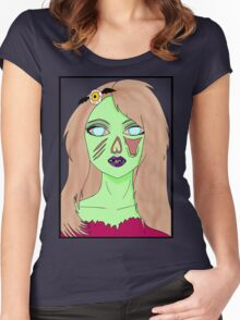 Zombarbie Women's Fitted Scoop T-Shirt