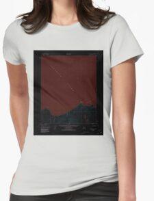 USGS TOPO Map Alaska AK Kotzebue A-1 356853 1950 63360 Inverted Womens Fitted T-Shirt