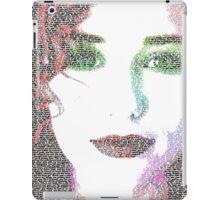 Tori Amos (with Cornflake girl lyrics) iPad Case/Skin