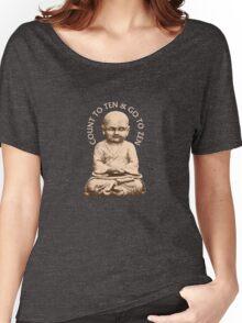 Count to Ten & Go to Zen Women's Relaxed Fit T-Shirt