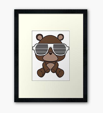 Boss Bear Framed Print