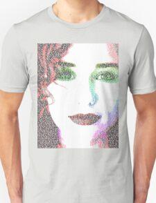 Tori Amos (with Cornflake girl lyrics) Unisex T-Shirt