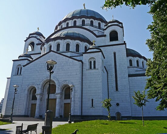 Cathedral of St Sava, Belgrade, Serbia by Margaret  Hyde