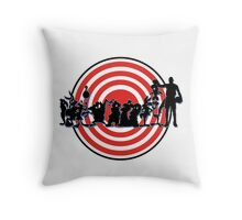 Space Jam! Throw Pillow
